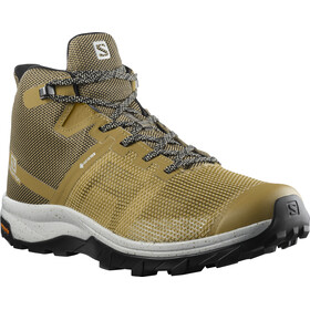 Salomon OUTline PRISM Mid GTX Shoes Men, kelp/bleached sand/lunar rock